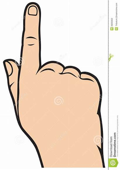 Finger Pointing Clipart Hand Clip Cartoon Pointer