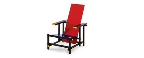 la chaise et bleu 635 and blue armchair by gerrit rietveld cassina