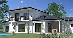 modele interieur maison contemporaine chaioscom With modele plan de maison 1 maison contemporaine modele