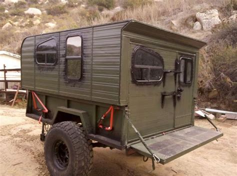 military trailer cer image result for military trailer cing 4x4 dreaming