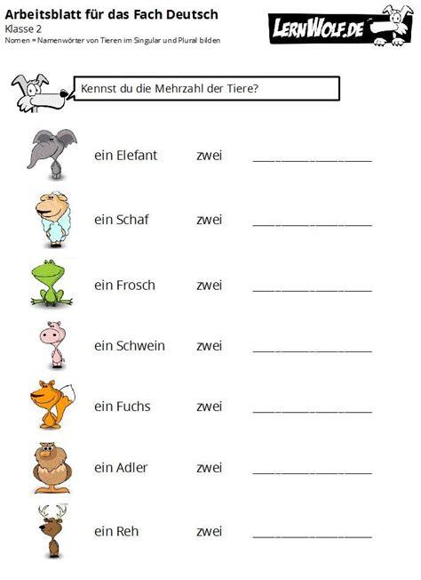 uebungen deutsch klasse  kostenlos zum  lernwolf