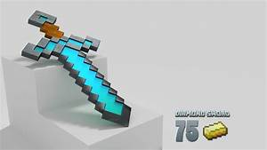 Minecraft Real Life Diamond Sword | www.imgkid.com - The ...