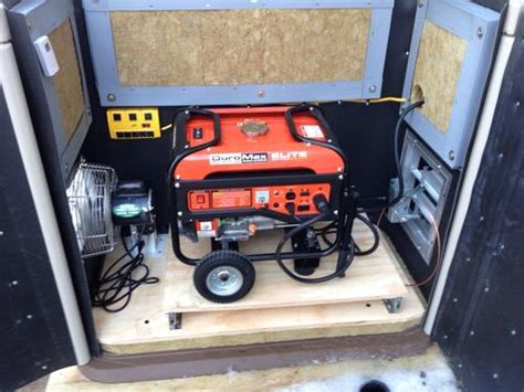 Generac Portable Generator Shed by Make Shed Into Playhouse Generac Generator Storage Shed