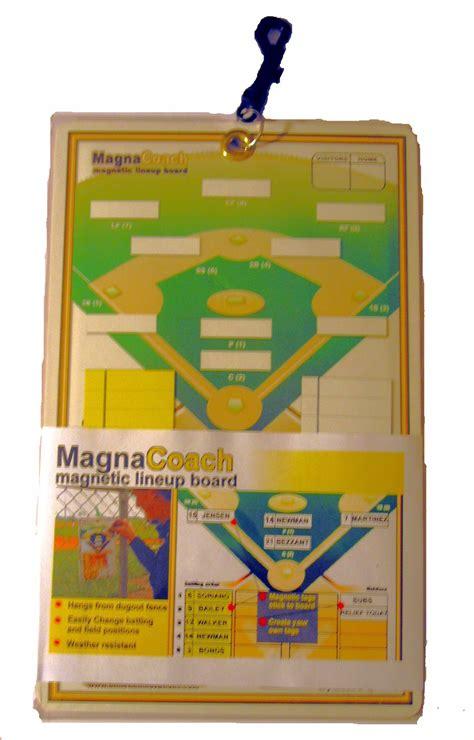 Markwort Magnacoach Baseballsoftball Magnetic Lineup