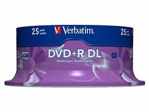 Double Layer Dvd : verbatim dvd r 8 5gb 8x double layer 25er spindel ~ Kayakingforconservation.com Haus und Dekorationen