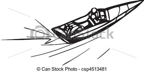 motor boat clipart black and white auto and boat racing vector clip search illustration