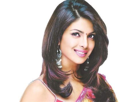 Priyanka Chopra Hairstyles with Indian Outfits   Indian