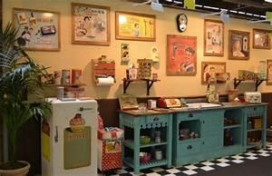 objet deco cuisine vintage equipement de maison With deco retro cuisine