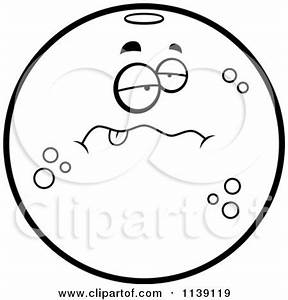Clipart Happy Orange Character - Royalty Free Vector ...