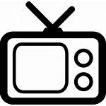 Tv Television Icon Svg Transparent Clipart Onlinewebfonts