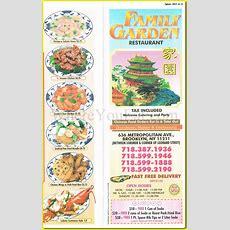 Family Garden Chinese Restaurant In Williamsburg, Brooklyn