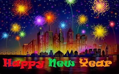 Happy Desktop Fireworks Background Backgrounds Wallpapers Frames