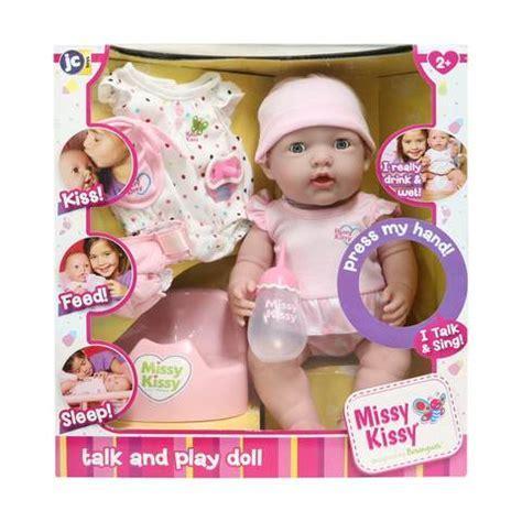 38Cm Missy Kissy Doll   Kmart