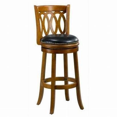 Bar Swivel Stool Oak Inch Cameron Spiral