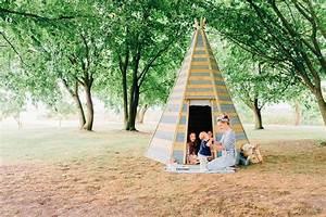 Tipi Enfant Exterieur : grand tipi d 39 ext rieur en bois 220 cm ~ Teatrodelosmanantiales.com Idées de Décoration