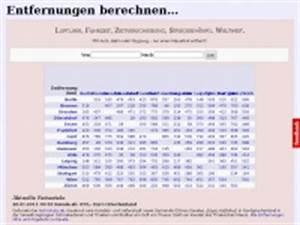 Entfernungen Berechnen Luftlinie : entfernung berechnen ~ Themetempest.com Abrechnung