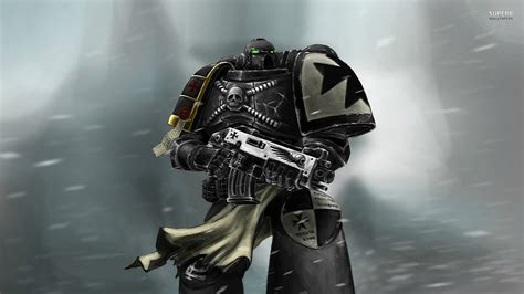warhammer 40k black templars fond ecran hd