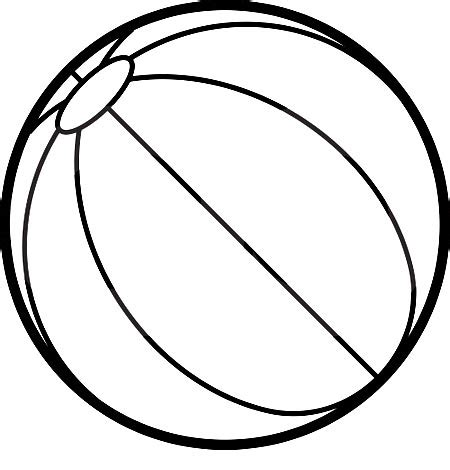 ball coloring pages coloring clipart  clipart