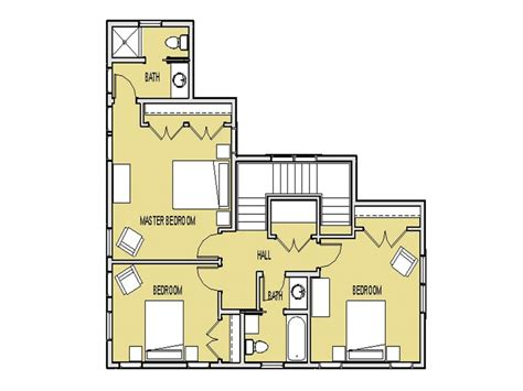 unique small house plans small  bedroom house plans