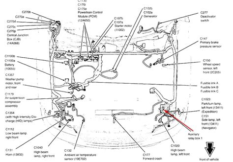 Compressor Wiring Diagram 2006 Ford Truck by 2006 Ford Expedition No Ac Of Freon Preasure Correct