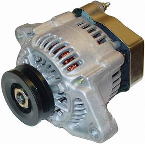 Mini 42 Amp 12 Volt Neg  Ground Alternator