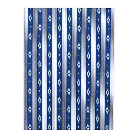 Ikea Sommar 2016 ikea sommar 2016 fabric material ikat blue white stripe 1