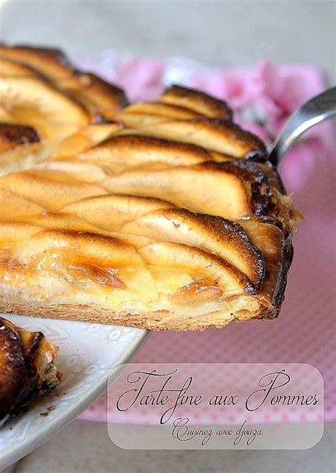 recette tarte aux pommes pate feuilletee tarte aux pommes pate feuillet 233 e recettes faciles recettes rapides de djouza