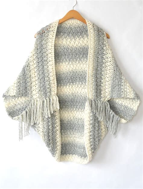easy crochet sweater easy blanket sweater pattern to keep you looking when