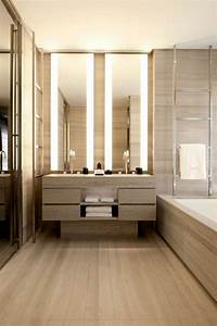 luminaire bois salle de bain mzaolcom With carrelage adhesif salle de bain avec applique plafond led