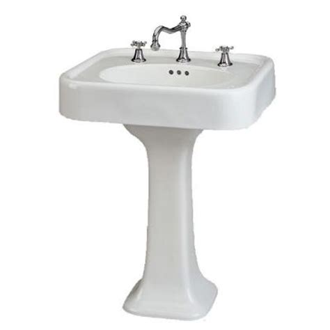 St Thomas Creations Liberty 25 In Pedestal Sink Basin In