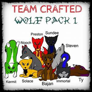 Team Crafted + Others Wolf Pack by xXNightm4reXx on DeviantArt