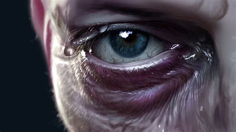 realistic eye digital speed painting time lapse