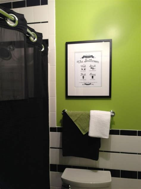 Lime Green Bathroom Ideas by 25 Best Ideas About Lime Green Bathrooms On