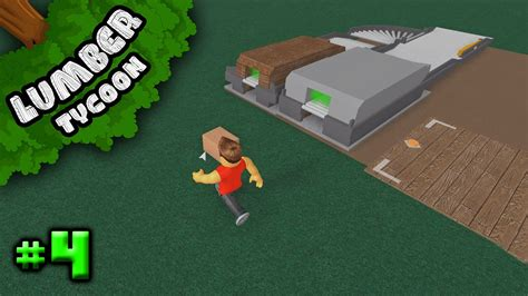lumber tycoon  ep  upgrading sawmill roblox youtube