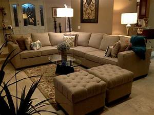 living room small living room decorating ideas with With large sectional sofa in small living room