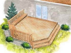 Simple Decks For Houses Ideas by Outdoor Find The Right House Deck Plans With Simple