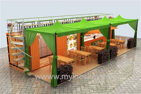 container cuisine special 20ft food container kiosk design for sale