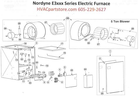 e3023 nordyne electric furnace parts hvacpartstore
