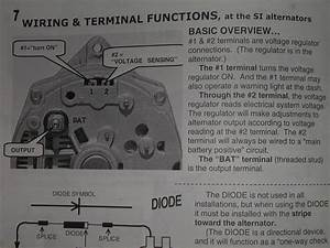 Alternator Wiring Question - The 1947
