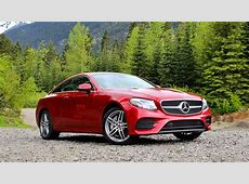 2018 MercedesBenz E400 4Matic Coupe First Drive Review