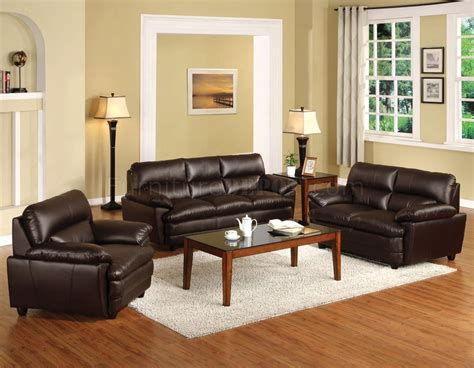 Cm6917bro Winston Sofa In Bonded Leather Match W/options