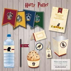 Deco Harry Potter Anniversaire : kit d co harry potter kit anniversaire harry potter f tes vous m me ~ Melissatoandfro.com Idées de Décoration