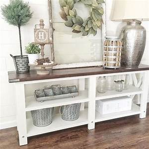 Fixer Upper Deko : the 25 best console tables ideas on pinterest console table console table decor and entrance ~ Frokenaadalensverden.com Haus und Dekorationen