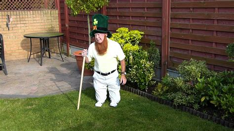 Must See Real Leprechaun Found In Gardenthis Is