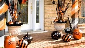 Decoration Halloween Pas Cher : des d corations d 39 halloween en orange et noir ~ Melissatoandfro.com Idées de Décoration