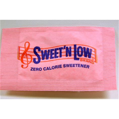 sweet  sugar substitute packet travel size