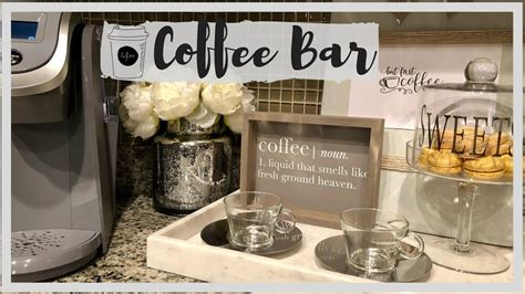 Well, it shouldn't be the only way to beat the. COFFEE BAR || DECOR and ORGANIZATION - YouTube | Coffee bar home, Coffee bars in kitchen, Coffee ...