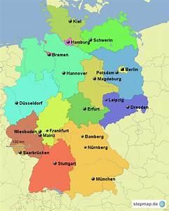 Schönsten Städte Deutschland : deutschland bl nder st dte von nici88 landkarte f r deutschland alle bundesl nder ~ Frokenaadalensverden.com Haus und Dekorationen