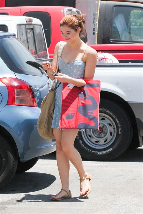 Stefanie Scott Out Shopping Los Angeles July