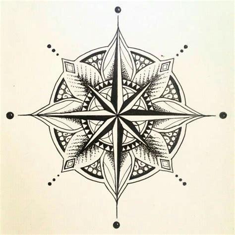 mandala compass tattoo tatts pinterest tatouage